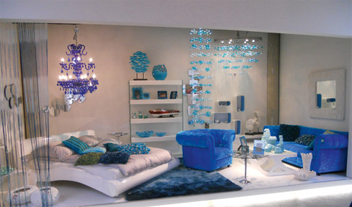 Blue Lounge nameštaj
