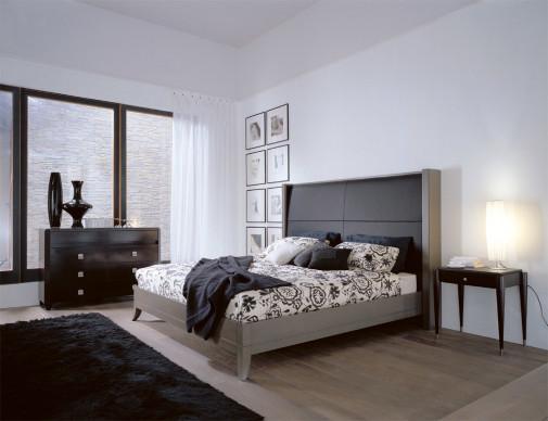 Crna spavaća soba