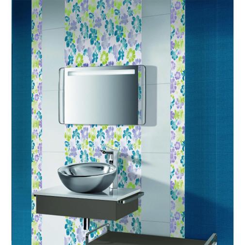 Cvetno moderno kupatilo