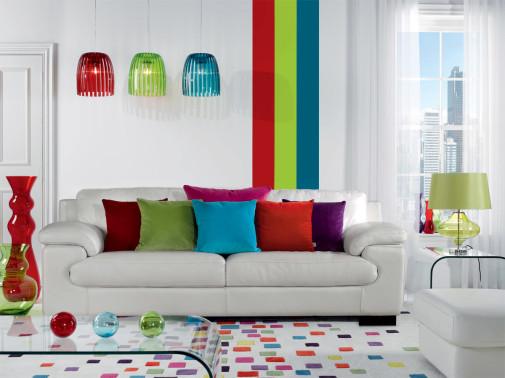 Dnevna soba u bojama