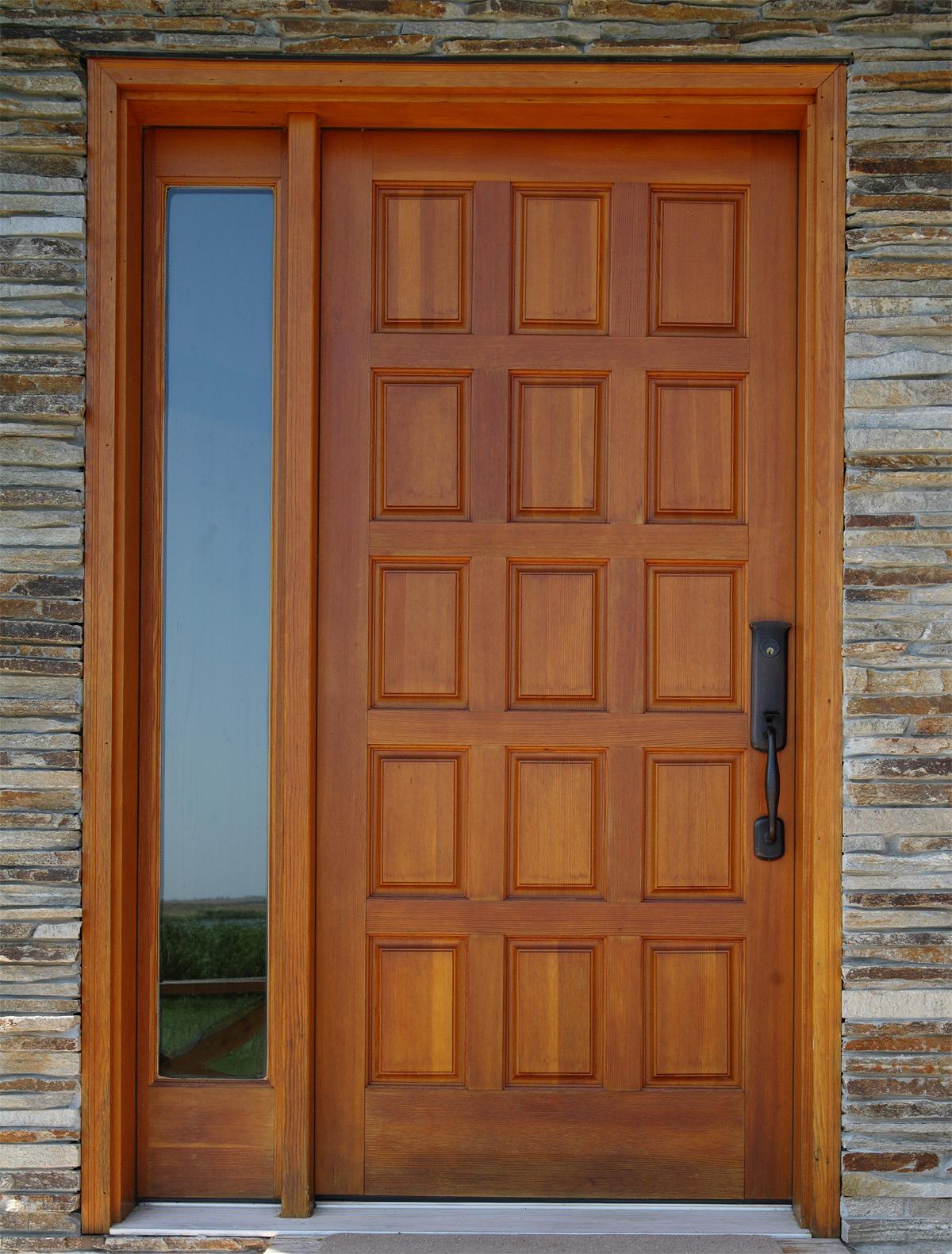 Ulazna vrata – čelik fiberglas ili drvo