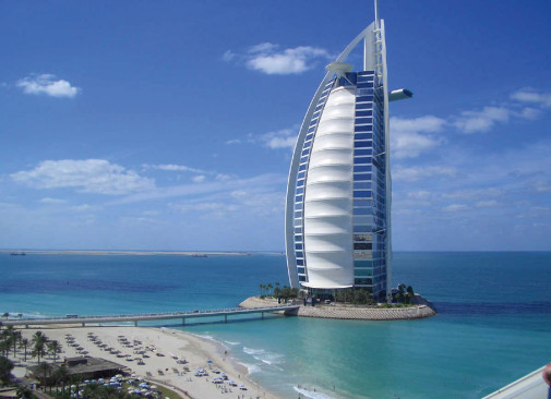 Dubai hotel Burdž al Arab
