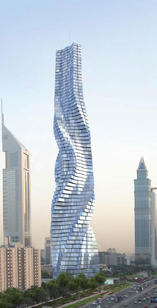 Dubai rotirajuća kula