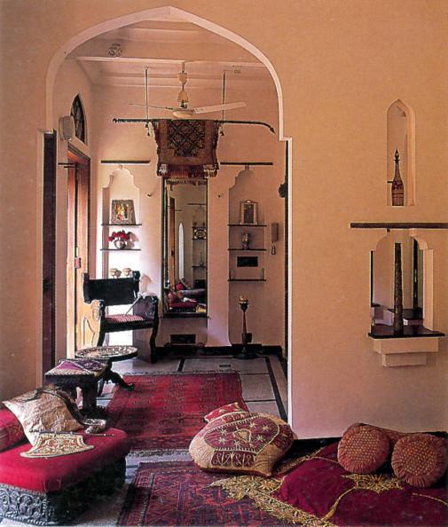 Indijski stil u kući