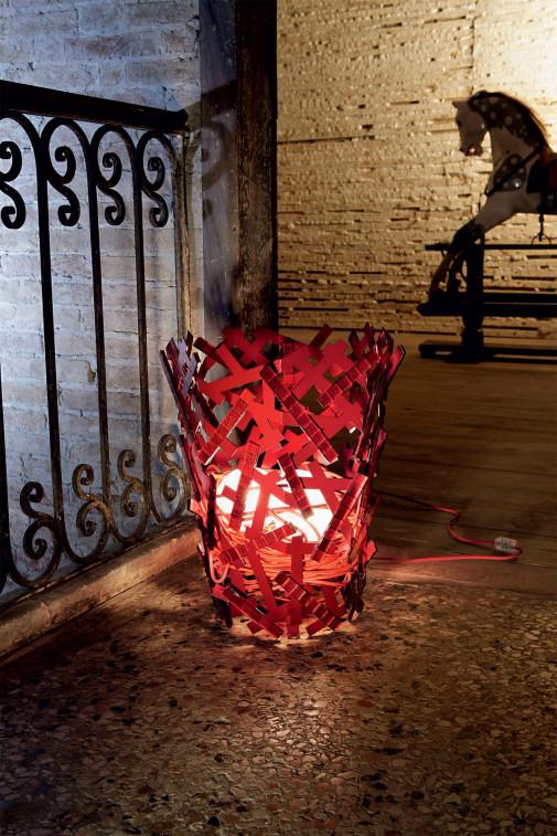 Lampa mozaik