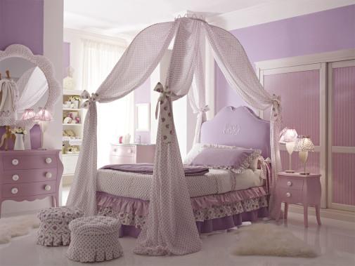 Lila soba za devojčice