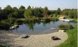 Prirodni bazen sa peskom
