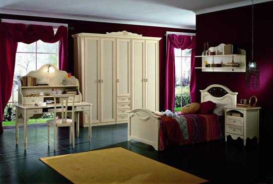 Romantična soba za devojčice