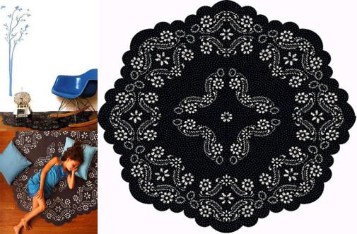 Nalepnica kao alternativa tepihu