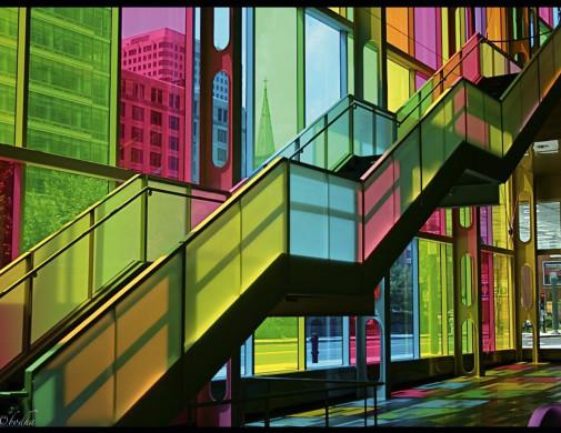 Staklena zgrada u Montrealu