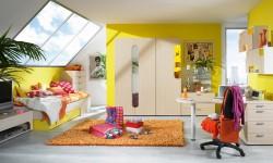Žuta dečja soba