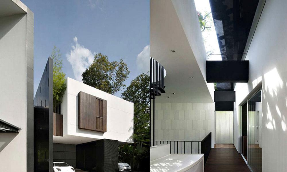 Crno bela kuća u Singapuru