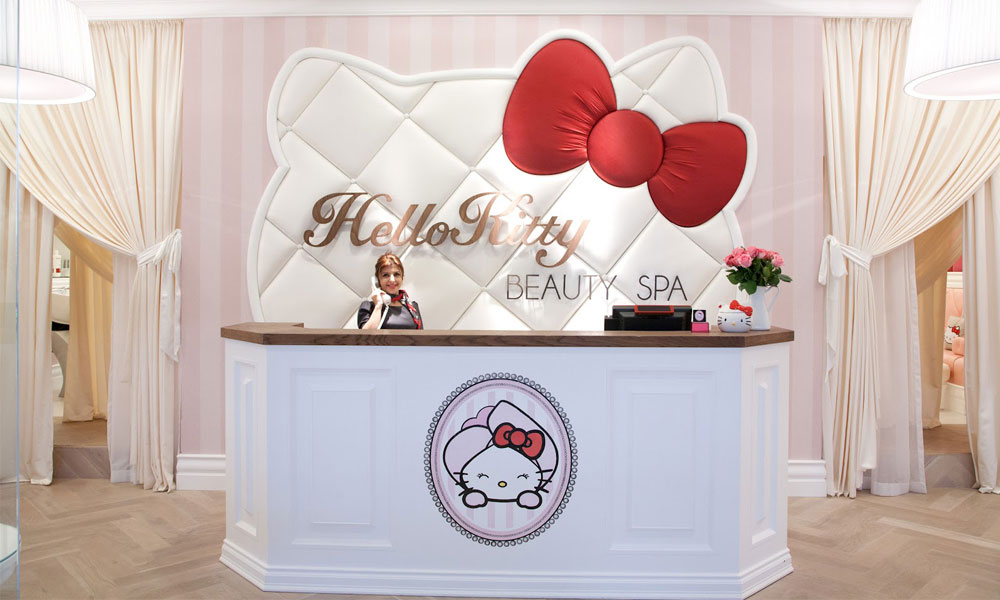 Hello Kitty Tapete Novi Sad : Hello Kitty salon lepote u Dubaiju