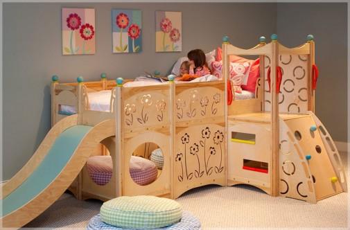 Dečji kreveti poput igrališta