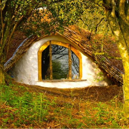Spoljašnjost Hobbit kuće