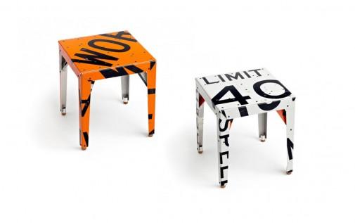 Stolice od recikliranog materijala