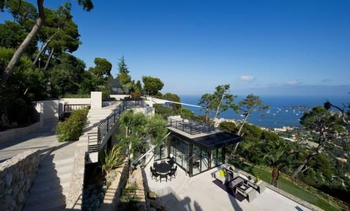 Terasa vile na Azurnoj obali