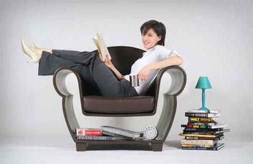 Kreativna fotelja za čitanje