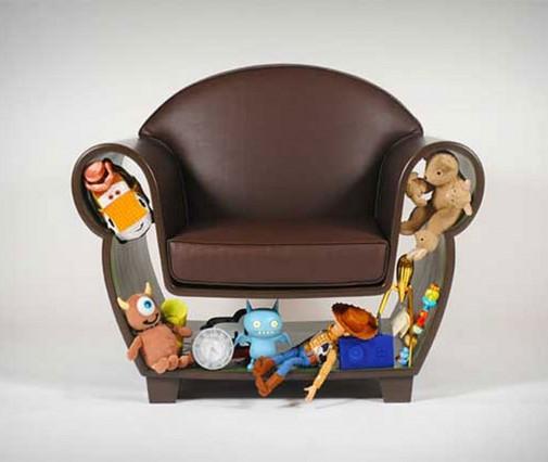 Kreativna fotelja za igračke