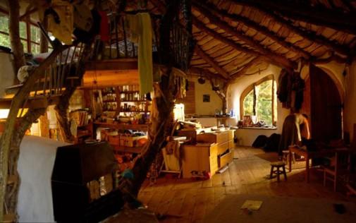 Unutrašnjost Hobbit kuće