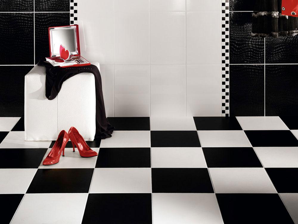 Trendi crno-bela kupatila   BravaCasa Magazin