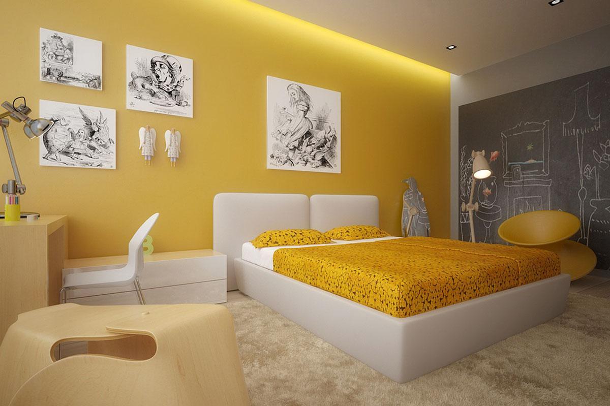 Яркие комнаты фото