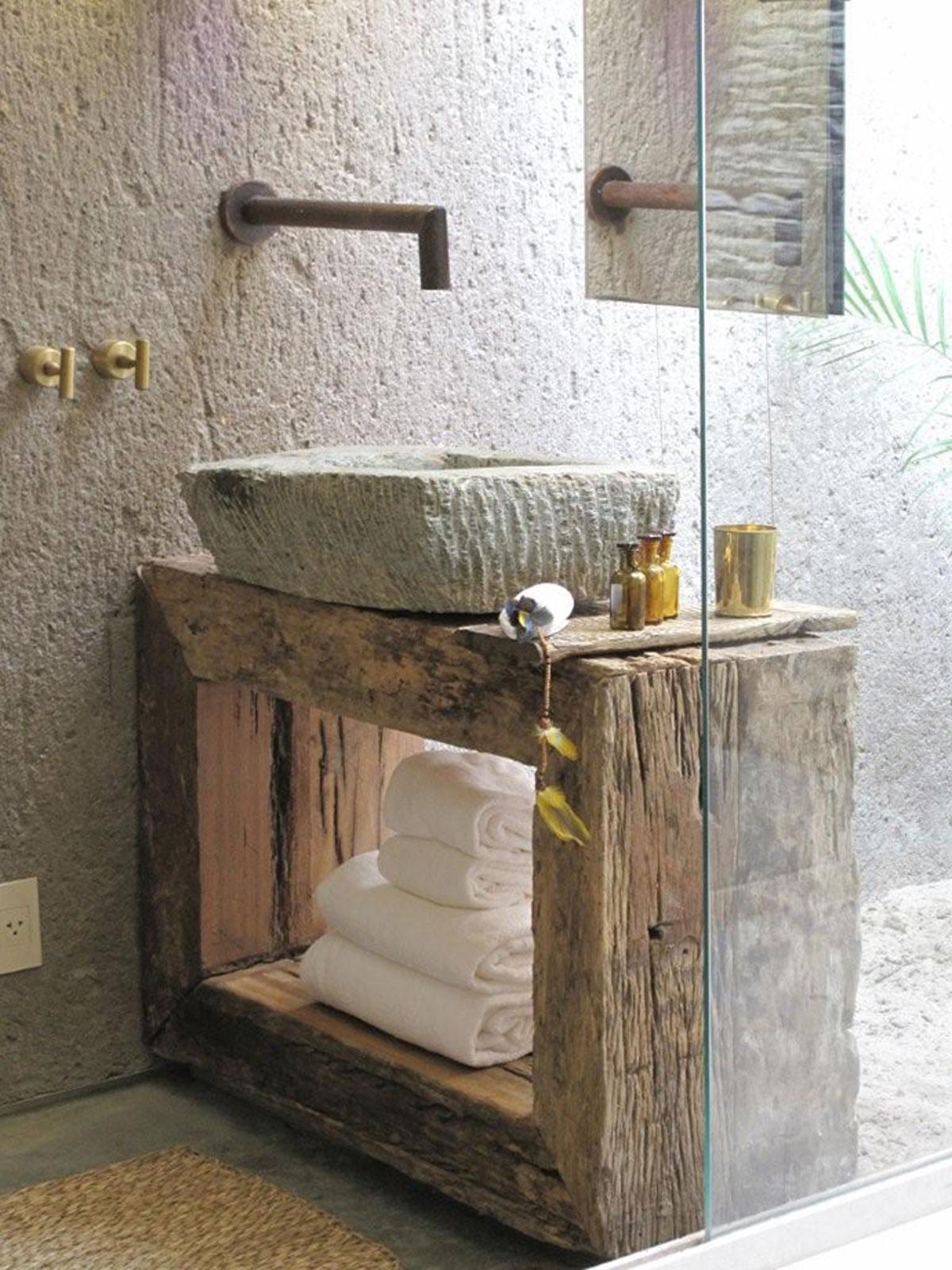Odlična kupatila sa rustičnim idejama   BravaCasa Magazin