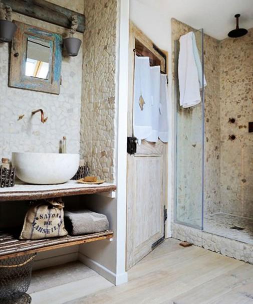 Kupatila u rustičnom stilu
