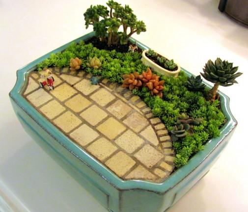 Minijaturne bašte