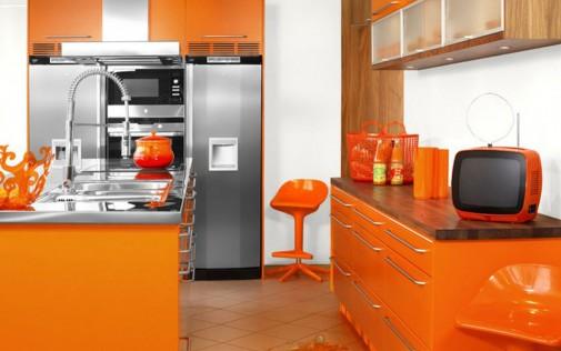 Narandžasta kuhinja