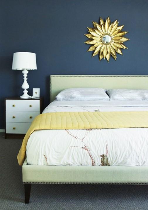 Soba u plavim nijansama