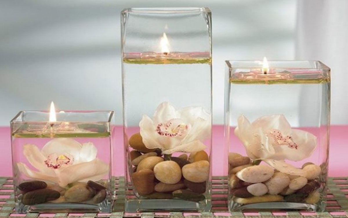Moderne staklene vaze u enterijeru bravacasa magazin - Decoracion de jarrones de cristal ...