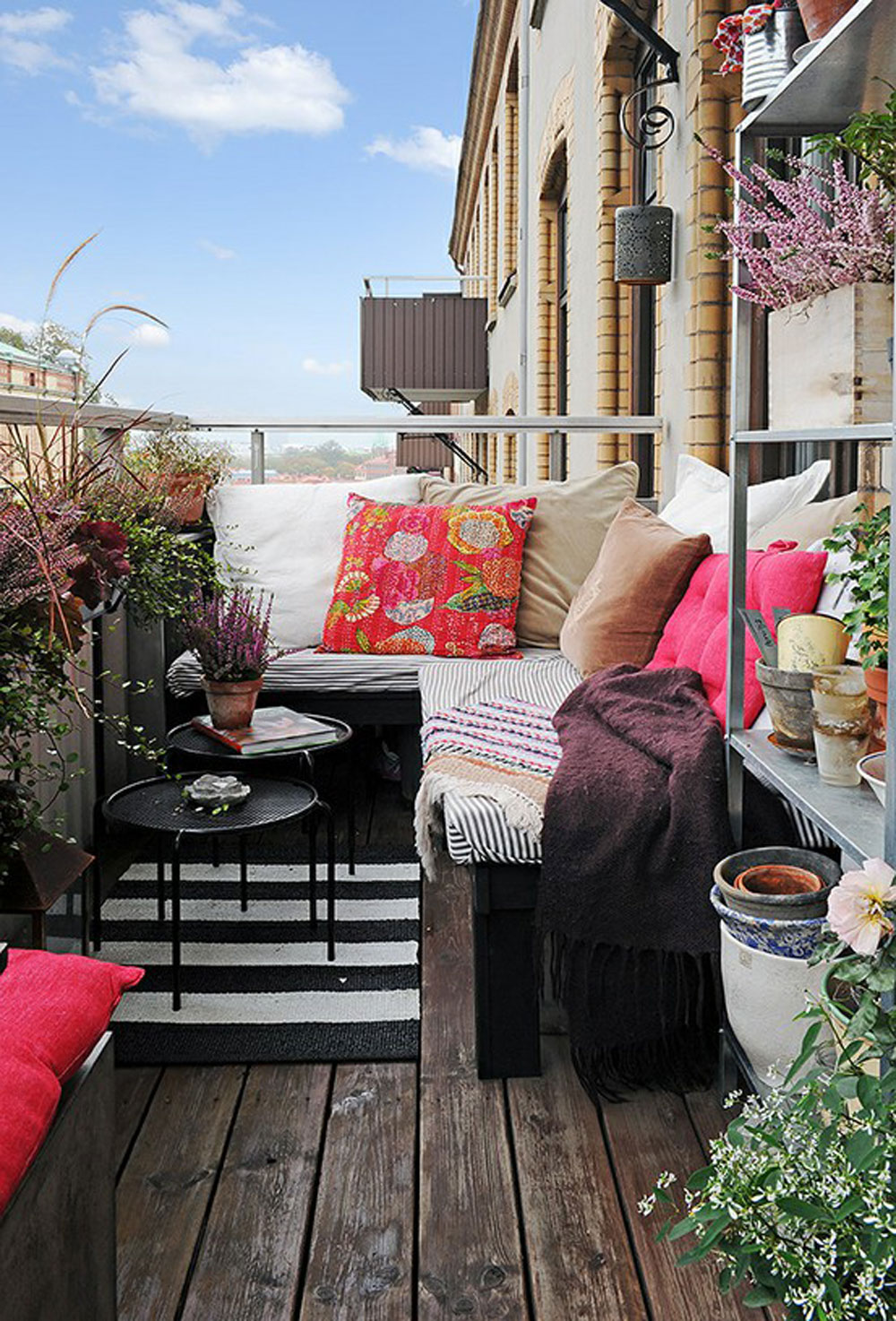 40 маленьких, но очень красивых балконов :: nash homer - des.
