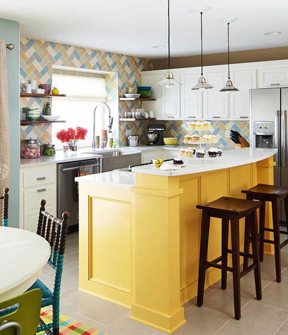 Fantastična Inspiracija Za žutu Kuhinju