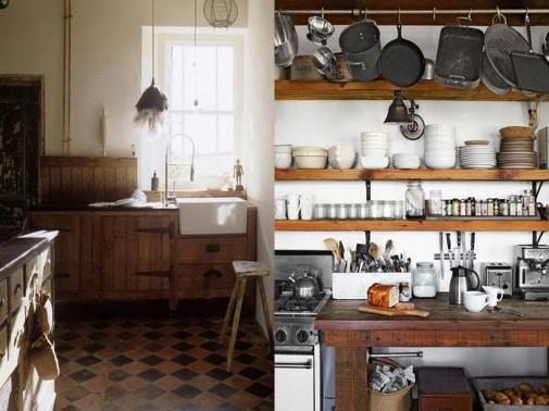 Rustičan dizajn kuhinje