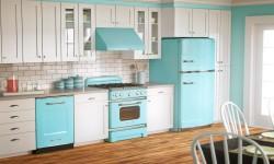 Tirkizni aparati u kuhinji