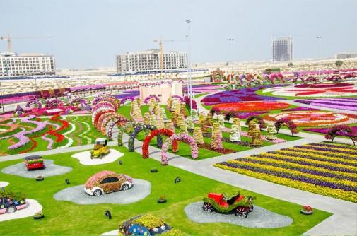 Čudesna bašta u Dubaiju