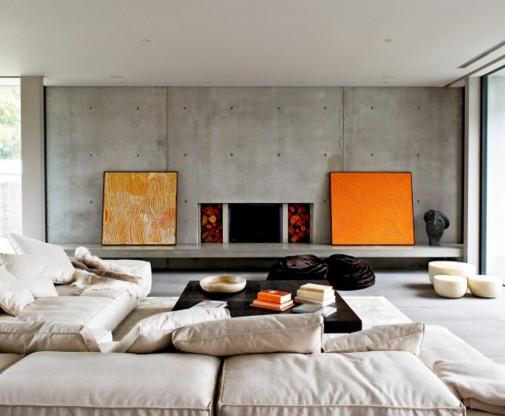 Beton kao element enterijera