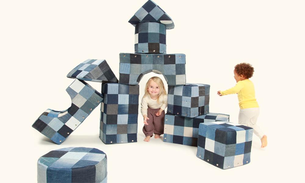 Dečije kocke za igranje i sedenje