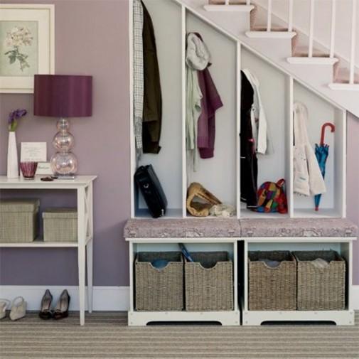 Funkcionalno korišćenje prostora ispod stepenica