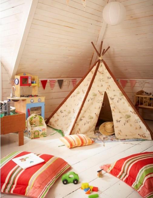 Indijanski šator za dečiju igru