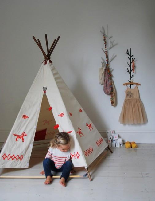 Indijski šator za dečiju sobu
