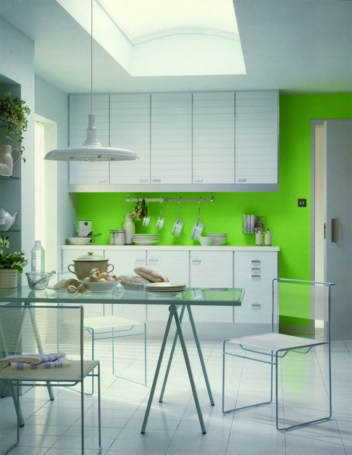 Inspirativna limeta zelena boja osvežava prostor