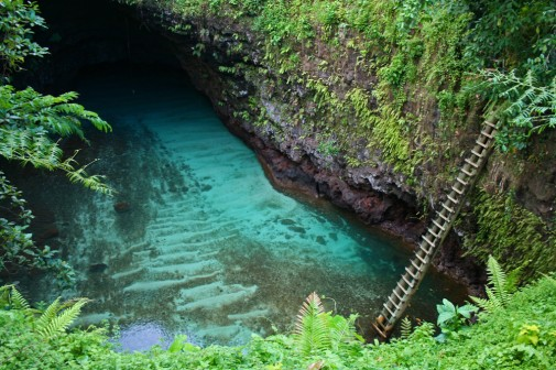 Okeanski rov To Sua, Samoa