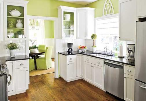 Okrečite kuhinju u osvežavajuću limeta boju