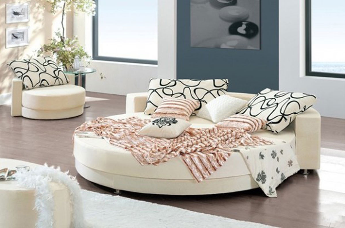 Zamenite tradicionalni krevet modernim bravacasa magazin for Round bed design images