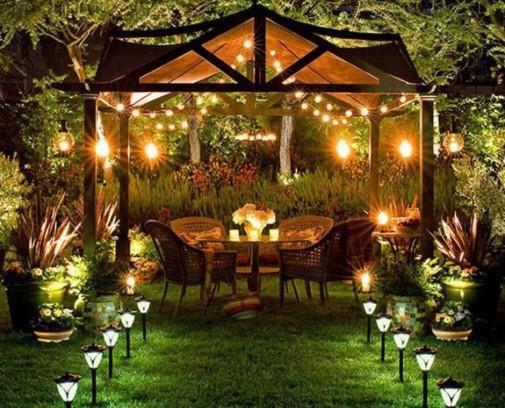 Osvetlite vaše dvorište