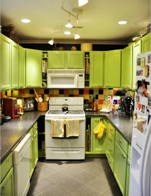 Osvežite kuhinju jarkom bojom limete