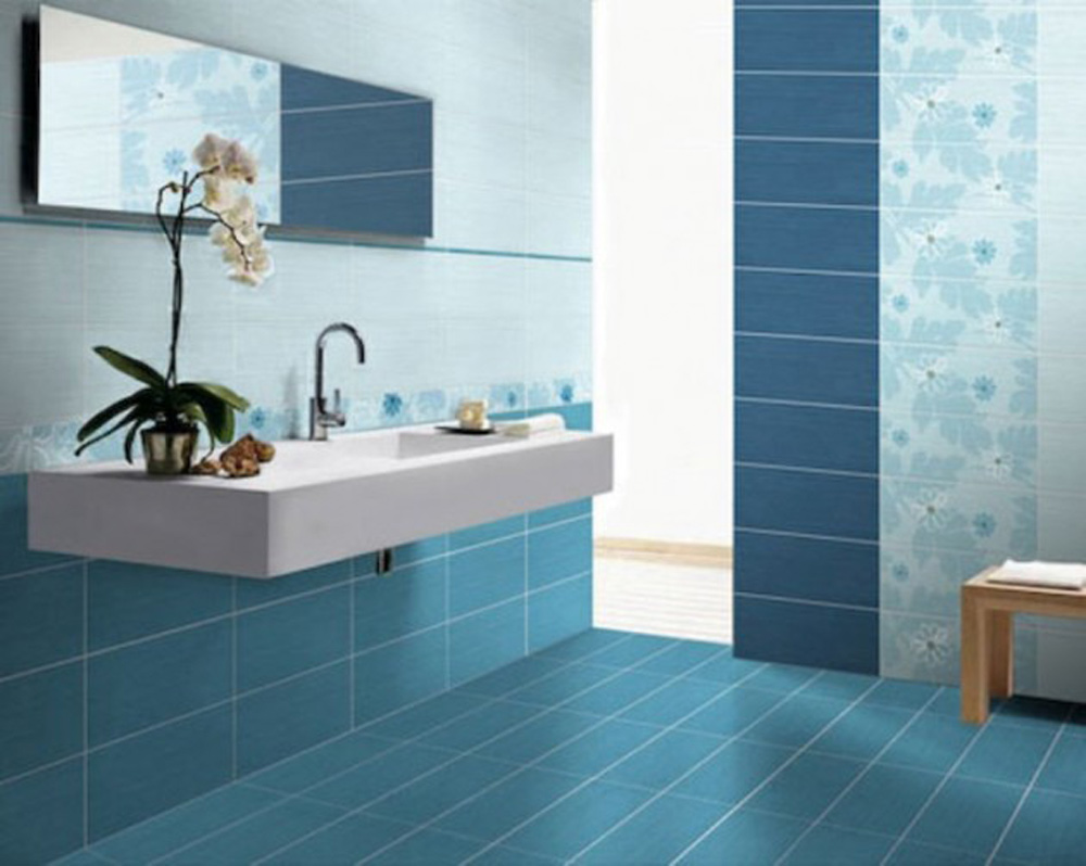 blue bathroom tiles image pet trendi boja za kupatilo bravacasa magazin 17455