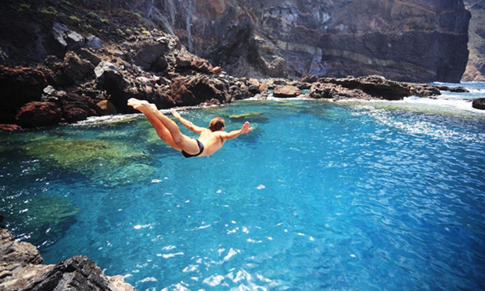 Prirodni bazen na Kanarskim ostrvima